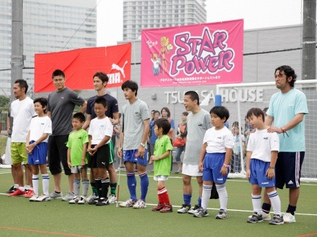7月11日に行われた「ユニバーサル フットボール ジャム」の様子