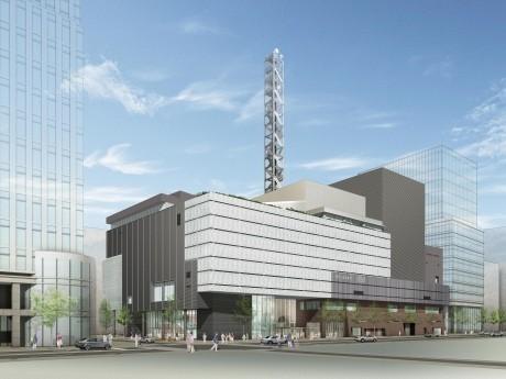神奈川芸術劇場(KAAT)の外観イメージ