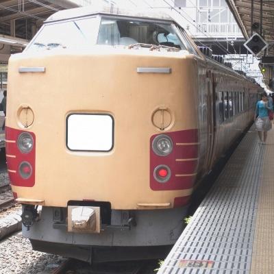 カナロコ列車として運行予定の特急型電車「183系」