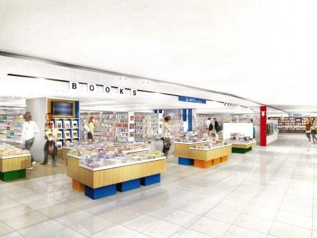 相鉄ジョイナス4階にオープンするブックストア「リブロ」(イメージ)