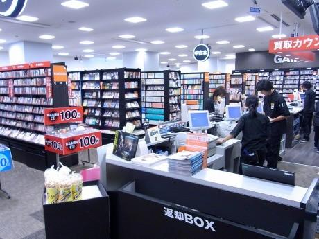 TSUTAYA横浜みなとみらい店にオープンした「ecobooks」