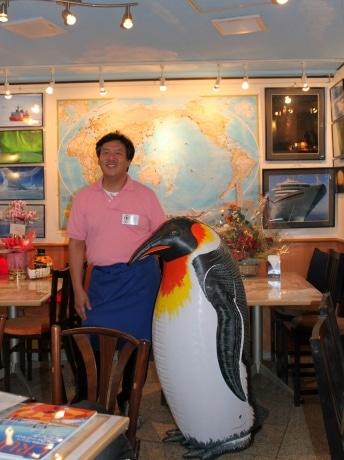 BAR de 南極料理人「Mirai」代表の篠原洋一さん