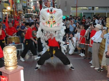 昨年開催された「国慶節」の様子