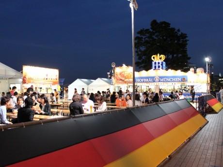 10月1日に開幕した「横浜オクトーバーフェスト」