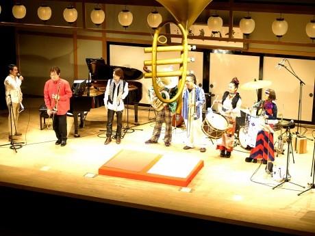 今年行われた「横濱Jazz寄席」の様子