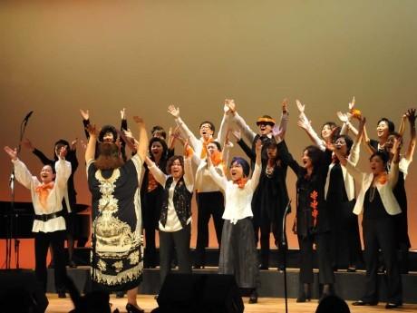 昨年開催された「MM NON-STOP VOICES」コンサートの様子