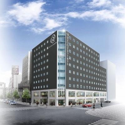 11月1日にオープンする「ダイワロイネットホテル横浜関内」外観イメージ