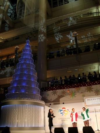 「Blue Christmas~君のためのクリスマス~」をテーマにキマグレンがプロデュースした音と光のクリスマスイベントが11月1日にスタート