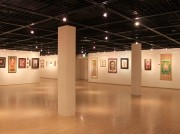 赤レンガ倉庫で国内外の49人の刺青師による絵画展