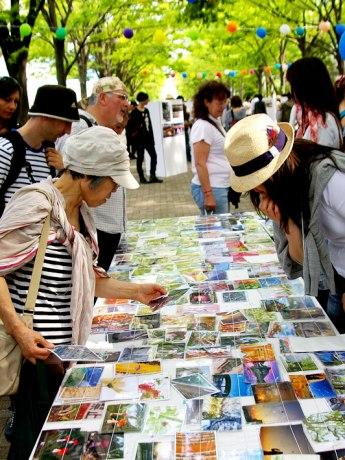 「第9回 AOZORA写真展in代々木公園」の様子