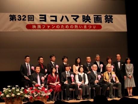 「第32回 ヨコハマ映画祭授賞式」の様子
