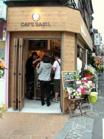 Cafe BASIL(カフェ バジル)の外観