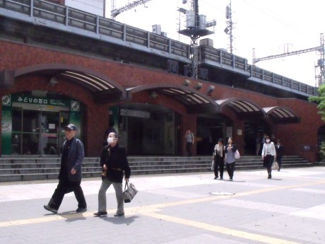 横浜ベイスターズ球団歌が発車メロディーとなるJR関内駅