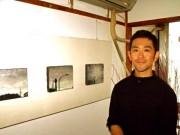自在関内オフィスで「吉本伊織展」-横浜の日常風景を墨で描く