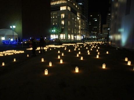 横浜マリンタワーのキャンドルナイト