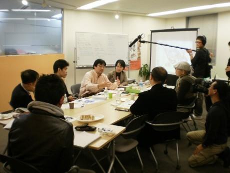 昨年11月に横浜社会起業応援プロジェクトが実施したブラッシュアップミーティング