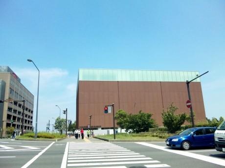みなとみらい21新港地区にオープンする「カップヌードルミュージアム」外観