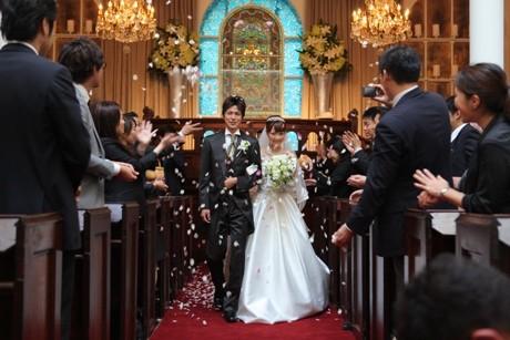ラ・バンク・ド・ロアでの結婚式の様子