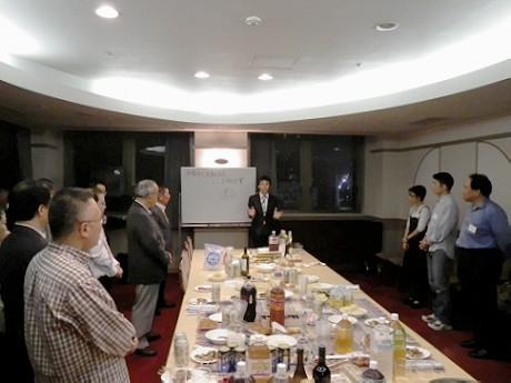 10月15日に行われた設立記念パーティーの様子
