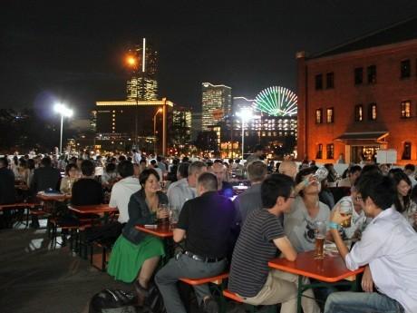 「横浜オクトーバーフェスト2011」は前年比140%、延べ14万人を動員した