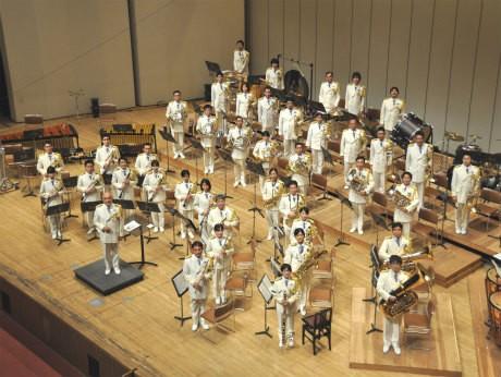 「海上保安庁音楽隊」が演奏する
