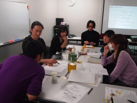 「Yokohama Changemaker's CAMP」プログラムのミーティングの様子