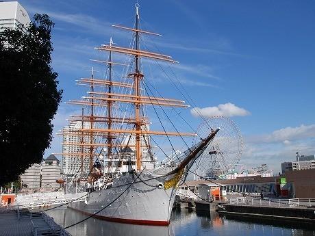 1月27日に進水82周年を迎える「帆船日本丸」