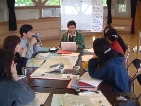 前回の「ひとり旅のつくり方講座」の様子(横浜市こども自然公園青少年野外活動センター)