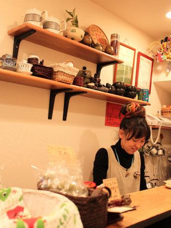 店長の木川良子さん(きぃ房茶1階)