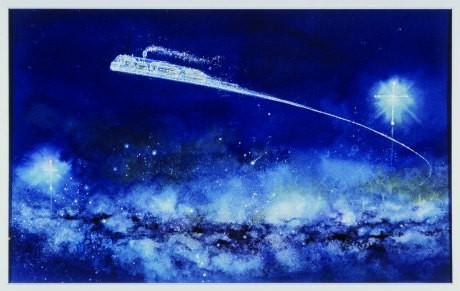 『銀河鉄道の夜』東逸子 1993年 くもん出版