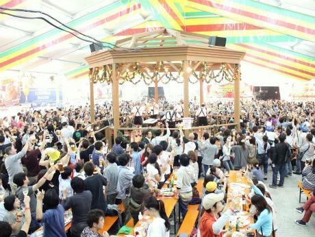 昨年の「横浜オクトーバーフェスト」では17日間で過去最高の約14万人を動員