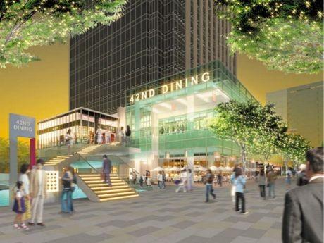 みなとみらいグランドセントラルタワーに商業モール「MMテラス」がオープンする