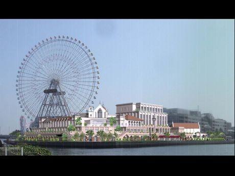 「アニヴェルセルみなとみらい横浜(仮称)」完成予想図