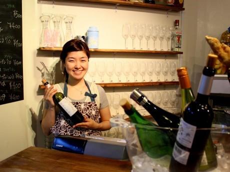 鯖寅果実酒商店料理長の中川ひかりさん