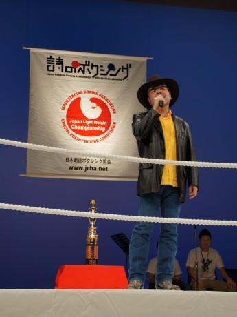 昨年、第11回全国大会でチャンピオンになったなぎら健壱さん