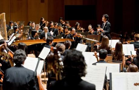 「神奈川フィル楽団」オーケストラ(写真:青柳聡)
