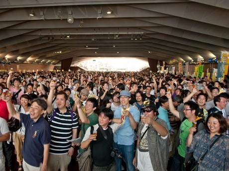 「ジャパン・ビアフェスティバル横浜」の様子