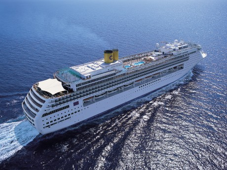 豪華客船「コスタ・ビクトリア」