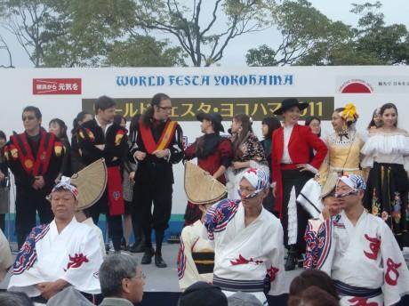 昨年の「ワールドフェスタ・ヨコハマ」ステージイベントの様子