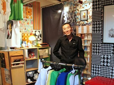 「Art Breeze Yokohama」オーナーの土屋能風さん
