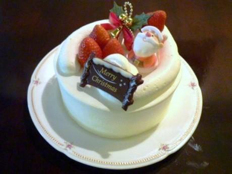 地産地消をテーマにした「クリスマスケーキ」