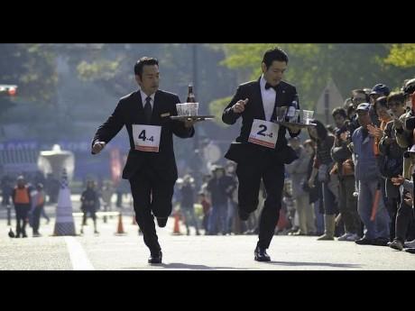 昨年の横浜大会、団体戦決勝レースの様子
