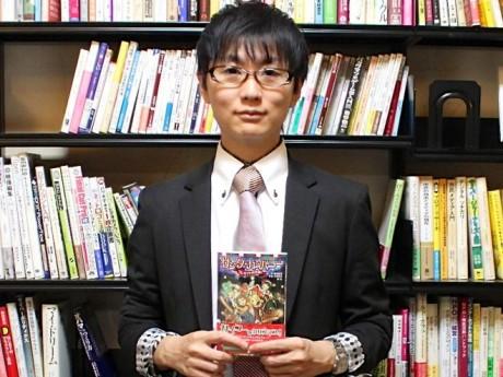 映像監督で小説「サンタ・カンパニー」を刊行した糸曽賢志さん