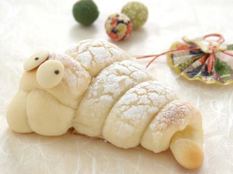 ポンパドウルが新発売する「巳のパン」