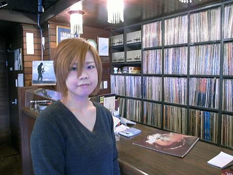 ジャズ喫茶「ちぐさ」の今野朝美さんは石巻市出身