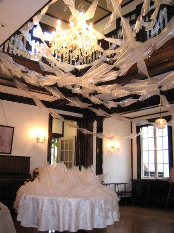 昨年の様子(OLD&NEW 山手111番館を飾る空間アート)