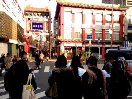 ハマブク読書会第3弾『横浜中華街の秘密に迫る』街歩きの様子