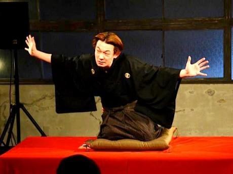 「さくらWORKS<関内>」で行われた独演会の様子