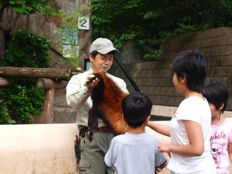 昨年の「ドリームナイト・アット・ザ・ズー」の様子(野毛山動物園)