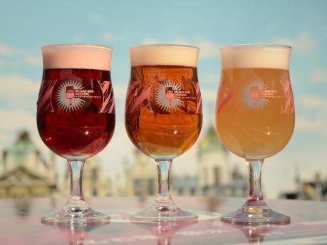 10タイプ59種類のベルギービールがたのしめる